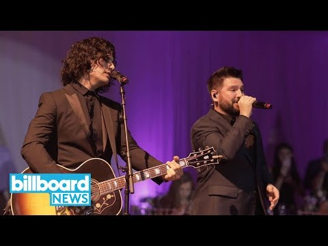 "Dan + Shay Crash Disney Wedding For Surprise ""Speechless"" Performance | Billboard News"