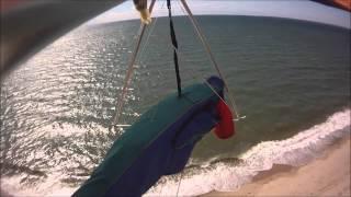 Graham Johns Hang Gliding Ryder Beach Truro MA May 2012.wmv