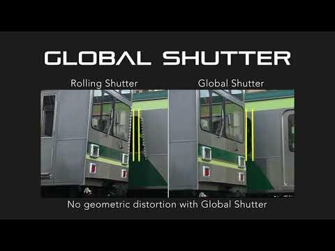 グローバルシャッタ対応