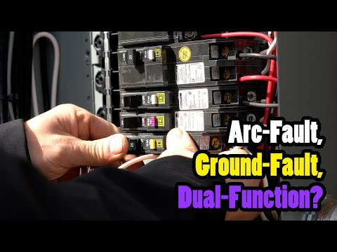 Arc-Fault, Ground-Fault, and Dual-Function Circuit Breakers ExplainedI