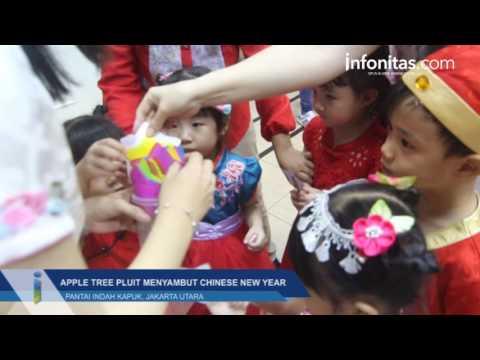 Perayaan Imlek Aplle Tree Pluit