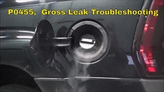 EVAP Leak Testing,  P0455 Gross Leak