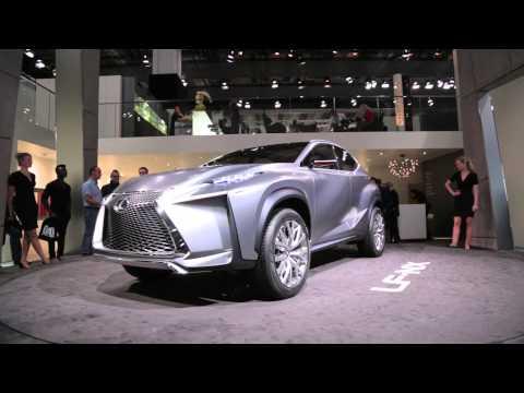 Lexus LF NX Concept - 2013 Frankfurt Motor Show