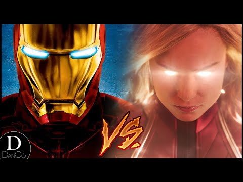 Iron Man VS Captain Marvel | BATTLE ARENA