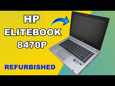 HP EliteBook 8470p Unboxing A- Class Refurbished