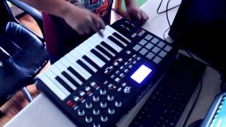 BrokasBeats Making- Akai mpk 25