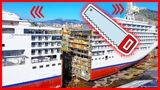 What Happens After Cruise Ships Get Cut In Half