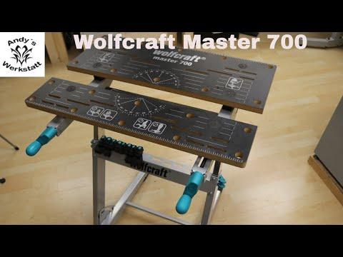 Wolfcraft Master 700 - Spanntisch / Arbeitstisch - Erste Eindrücke