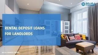 Rental Deposit Loans for Landlords