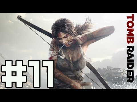 Играем в Tomb Raider - Серия 11 (Новый лук)