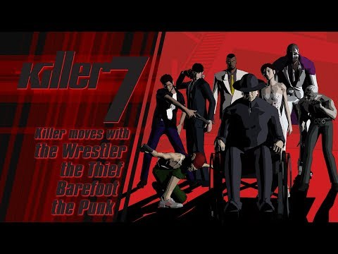 killer7 - Killer moves with the Wrestler, Thief, Barefoot, and the Punk (Steam) thumbnail