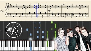 5 Seconds Of Summer - Fly Away - Piano Tutorial + Sheets