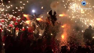 preview picture of video 'FESTA MAJOR MANRESA 2014: CORREFOC'