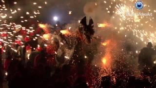 preview picture of video 'FESTA MAJOR MANRESA 2014: CORREFOC'