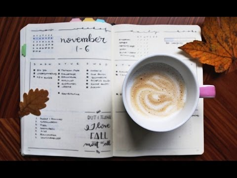 Schöner schreiben lernen (Handlettering) | WIE ERSTELLT MAN EIN BULLET JOURNAL (Teil 2/3)