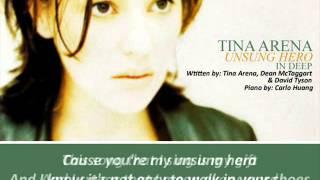 Tina Arena - Unsung Hero (Piano and Lyrics).wmv