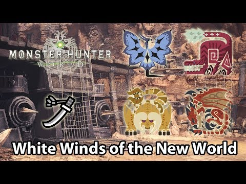 MHWorld | 9★ The White Winds of the New World solo (Long Sword) - 9'37
