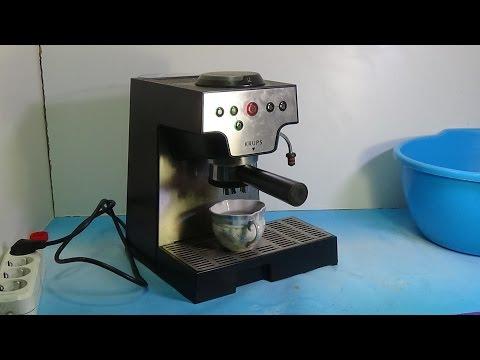 Кофеварка KRUPS XP 5080 не качает воду