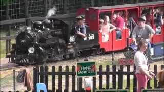 preview picture of video 'May Bank Holiday at the Audley End Miniature Railway (part two)'