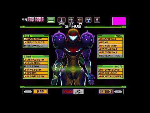 SUPER METROID WITH NEW ENGINE!??!