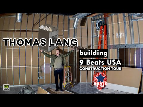 Thomas Lang gives a full construction tour of 9 Beats USA Drum School