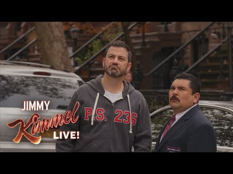 Jimmy Kimmel & Guillermo Break Kelly Ripa and Ryan Seacrest's Window