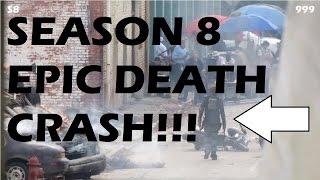 The Walking Dead Season 8 - EPIC DEATH CRASH - LEAKED PICS!!!