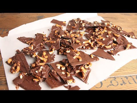 3 Ingredient Sea Salted Chocolate Pretzel Bark | Episode 1211