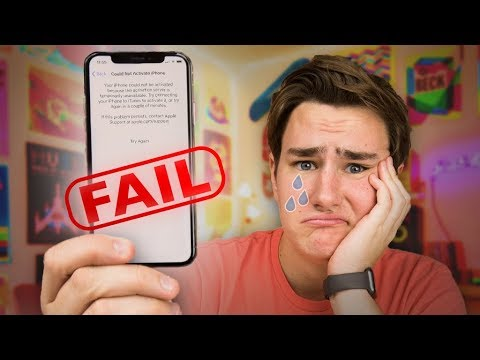 My $1100 iPhone X Fail...