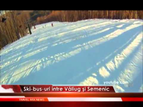 Ski-bus-uri între Văliug şi Semenic