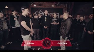JohnyBoy, VERSUS #1 (сезон II): Johnyboy VS Jubilee