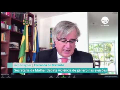 Secretaria da Mulher debate violência de gênero nas eleições – 04/12/20