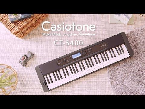 Casiotone CT-S400 - Sản phẩm đàn organ/keyboard mới 2021
