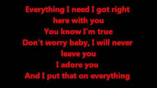 Everything By, Marques Houston with lyrics