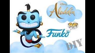 DIY - Geek - Funko Pop Gênio Do Filme Aladdin