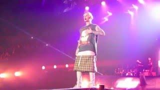 Bratz Children Perform on Stage w/ Justin Bieber - #PurposeTourChildrenSeattle