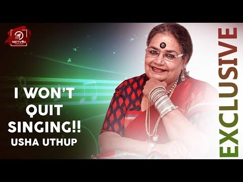 Usha Uthup Interview First Ever For ..