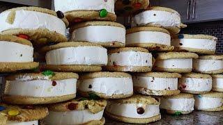 25 M&M Ice Cream Sandwiches (6,000+ Calories)