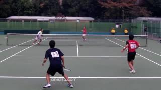 [すごプレ36]ソフトテニス日本代表選考会2015 篠原小林ー村上井口