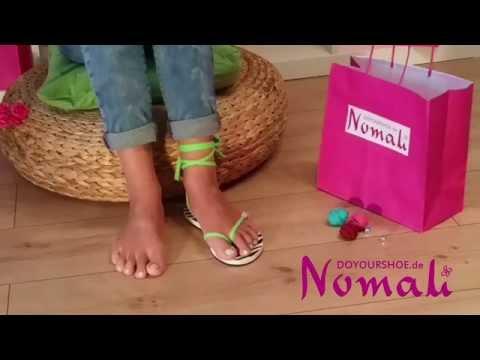 Nomali - DoYourShoe.de -  kreative Sandalen - Anleitung 1