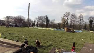 preview picture of video 'Miezerik verkiezingstent 2014 opbouw tent timelapse'