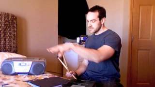 DRUMMING WITHOUT DRUMS - Drum Lesson #1 (For Beginners): Setup & Grip