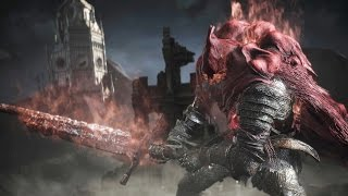 Dark Souls 3 Ringed City: Slave Knight Gael Boss Fight (4K 60fps)