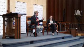 Sen. Frank Wagner (R) Q&A at Temple Rodef Shalom (5/21/17)