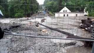 preview picture of video 'Zschopau, Krumhermersdorfer Straße am 2.Juni 2013'