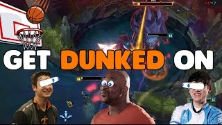 LoL Best Stream Moments #3 - GET DUNKED ON!