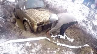 SUV Уаз, Нива Бездорожье 2018 4x4 Снежная Карусель Off Road