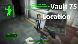 Fallout 4 Vault 75 Location Quest Line Guide Science Bobblehead Location