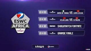 🔴 LIVE : Tab3o l'Africa Gaming Fest by inwi ! #AGFbyinwi/#ESWCAfrica