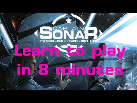 How to Play Captain Sonar